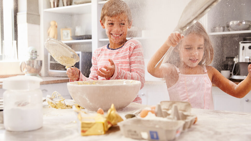 5 baking recipes - great for the kids to make