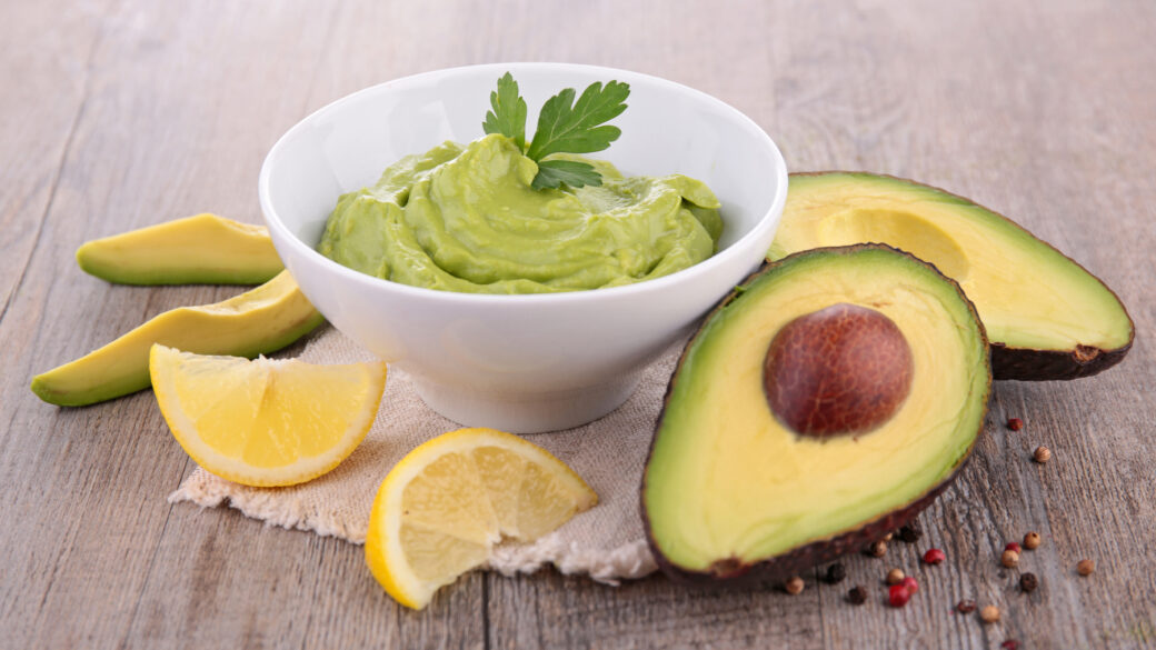 5 minute avocado dip