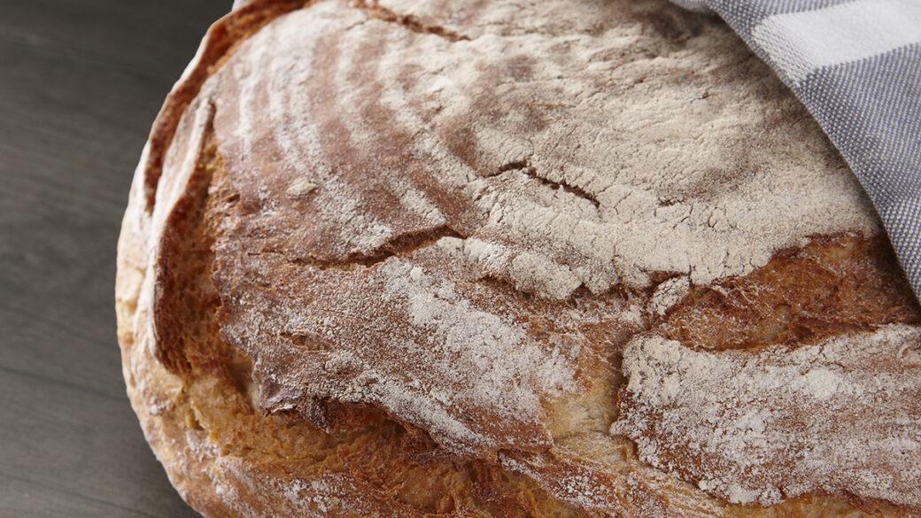Easy homebaked bread