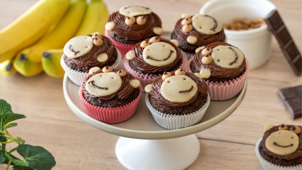 Zdravi in zabavni– veganski čokoladni mafini