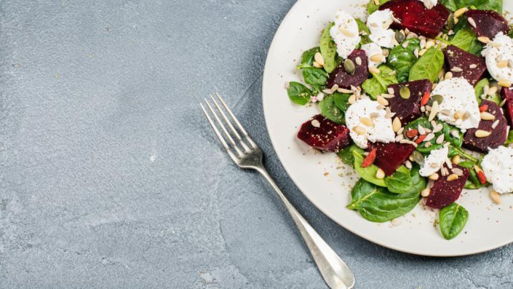 Feta & clementine winter salad