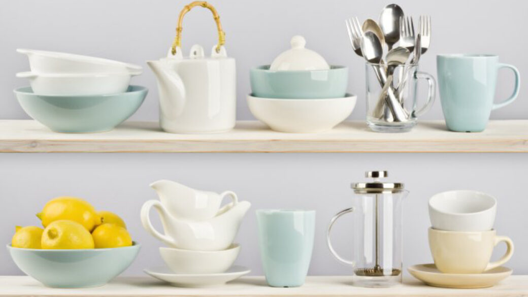 3 ways to make your dinnerware sparkle
