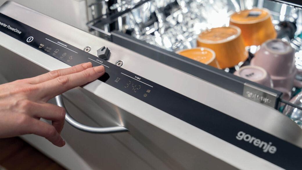 Spülmaschinen-Schnellprogramm