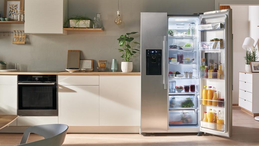 Amerikanische Küche einrichten mit Doppeltürkühlschrank & Co.